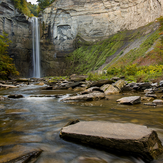 Taughannock Falls Ithaca New York