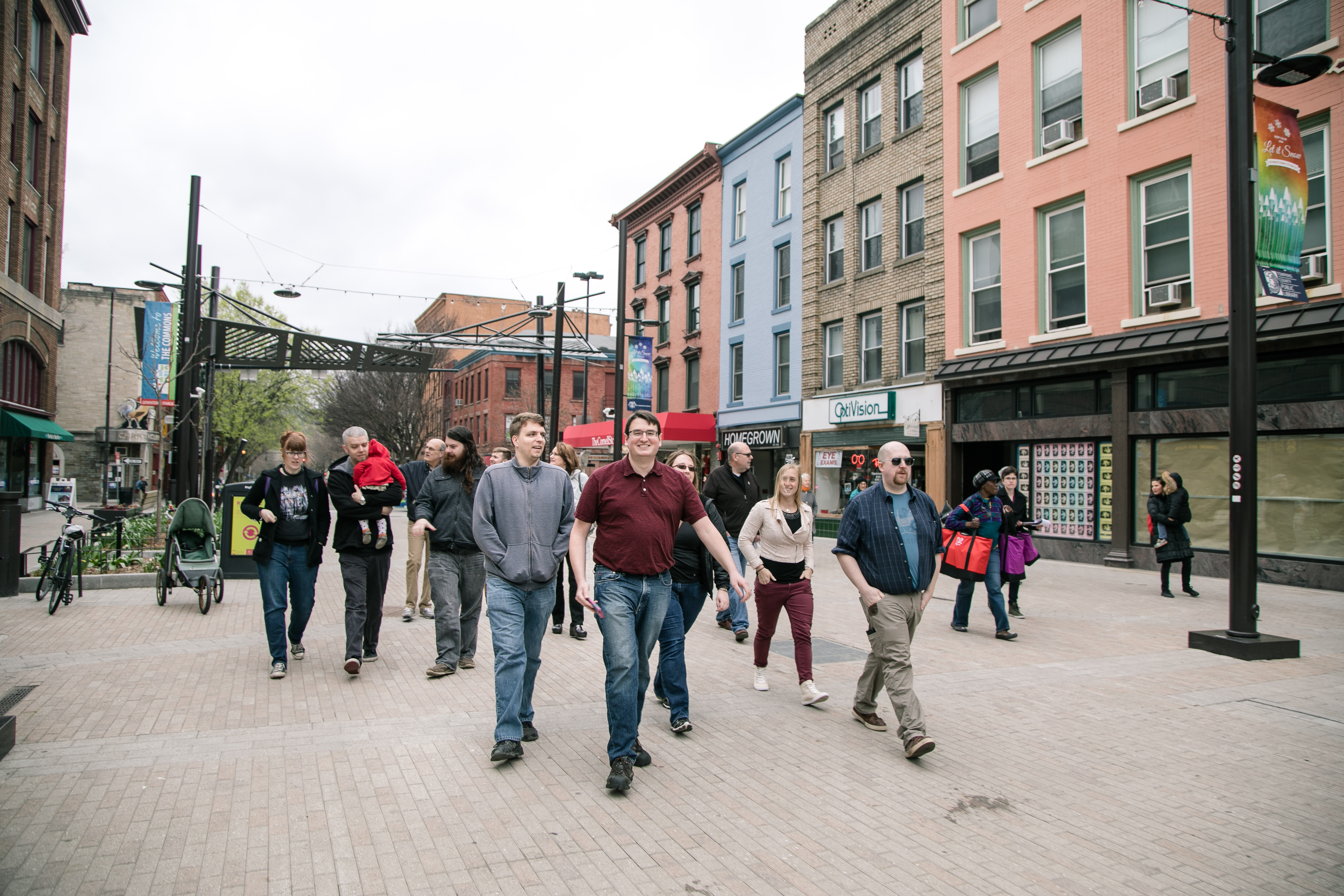 Ithaca Commons walking tour