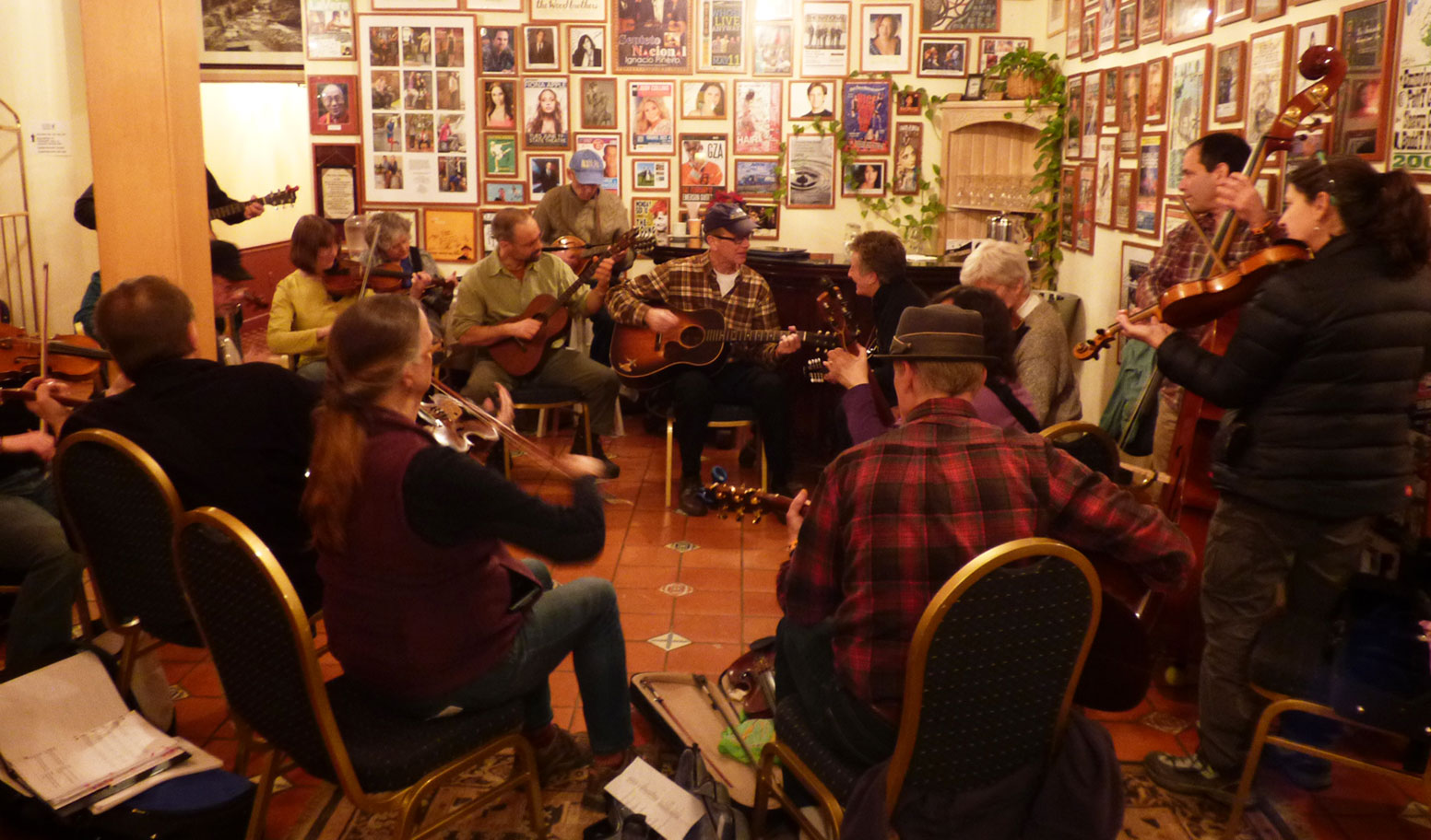 Winter Village Music session