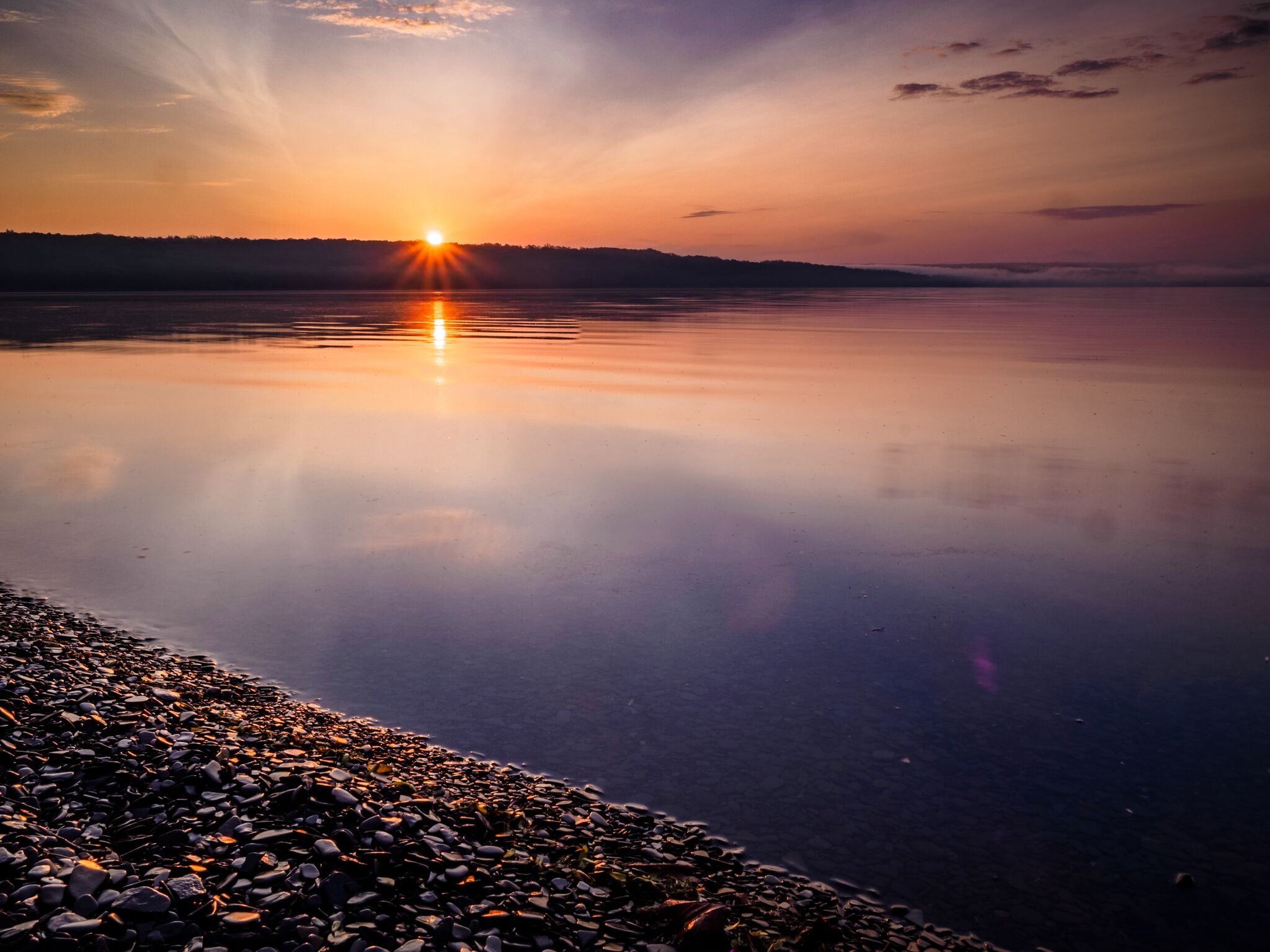 Cayuga Lake shoreline