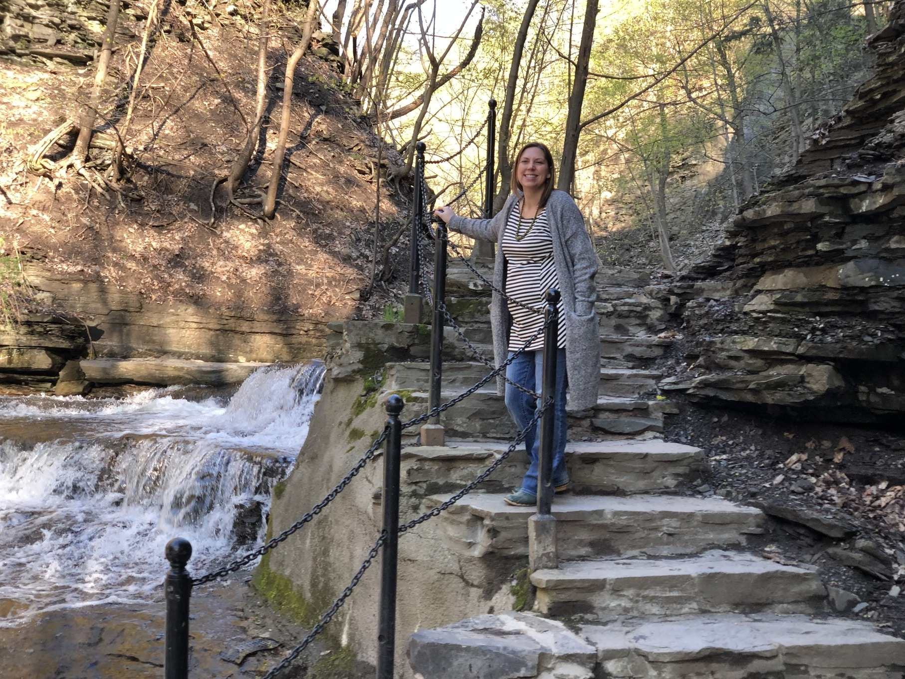 Erin R. on the Cascadilla Gorge Trail
