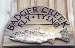 Badger Creek Fly Tying