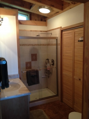 fieldstone bathroom