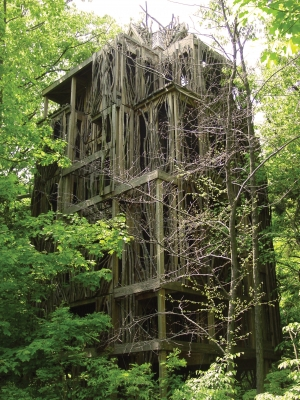 Six-story tree house