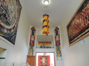Namgyal Monastary shrine