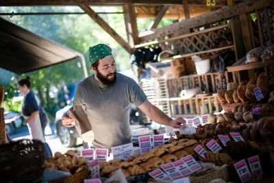 Ithaca and Tompkins County's Farms and Farmers Markets serve up the freshest food from local vendors.